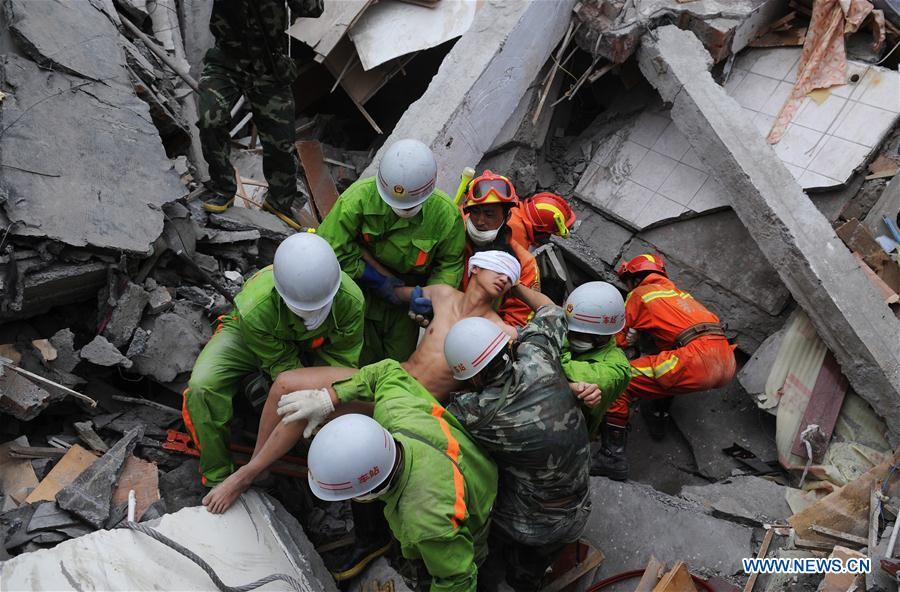 In pics: man saved in Wenchuan earthquake saves more people's lives
