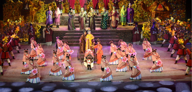 Beilu Bangzi Opera performed in Beijing