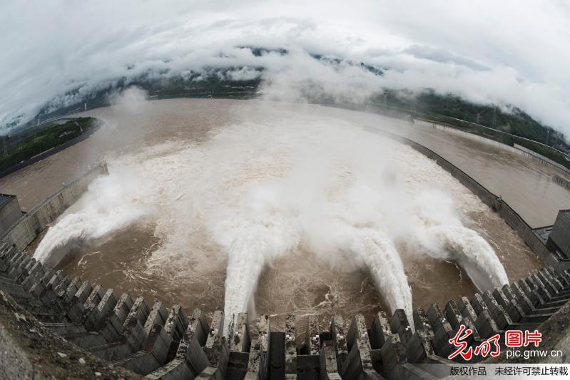 Three Gorges reservoir braces for flood