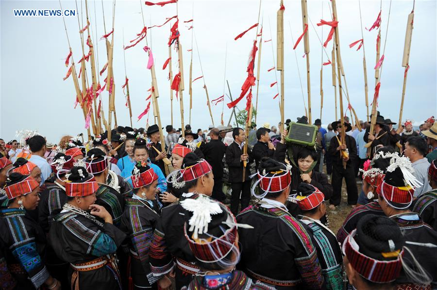 #CHINA-GUIZHOU-MIAO ETHNIC GROUP-QIYU FESTIVAL (CN*)