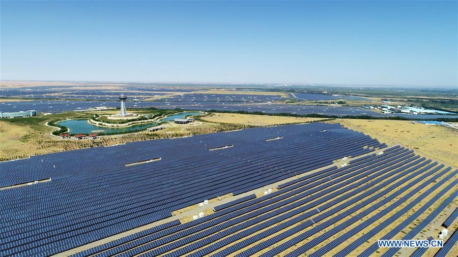 CHINA-NINGXIA-PHOTOVOLTAIC POWER STATION (CN)