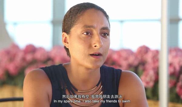 American girl's life in Beijing