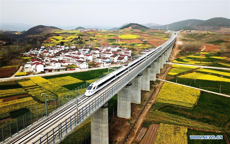 CHINA-HIGH-SPEED RAILWAY-DEVELOPMENT (CN)