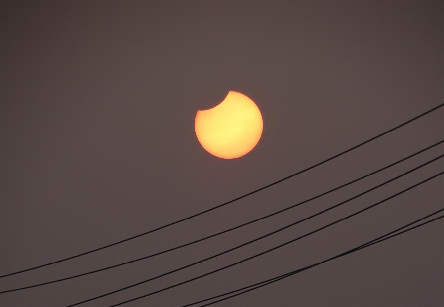 #CHINA-PARTIAL SOLAR ECLIPSE (CN)