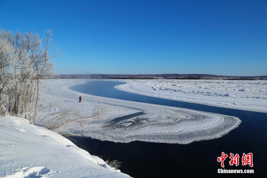Stunning scenery of Huma River in NE China's Heilongjiang Province