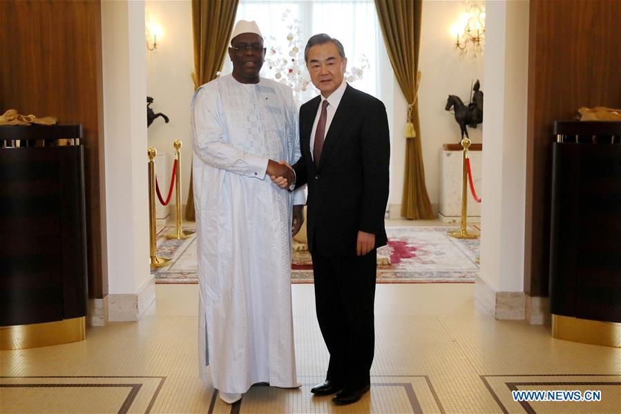 SENEGAL-DAKAR-CHINA-WANG YI-MEETING
