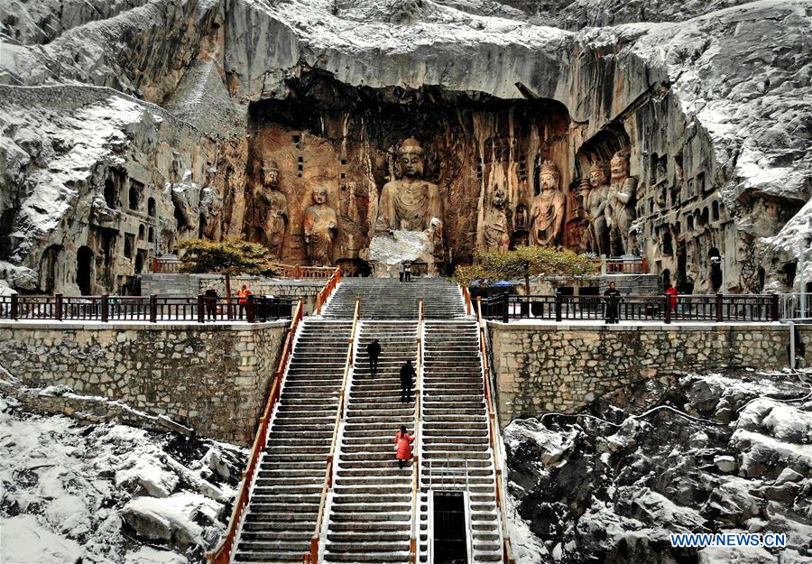 CHINA-HENAN-LONGMEN GROTTOES-SCENERY (CN)