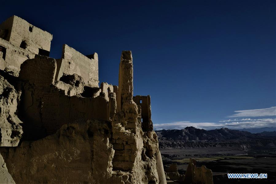 (InTibet) CHINA-TIBET-GUGE KINGDOM-RUINS-TOURISM (CN)