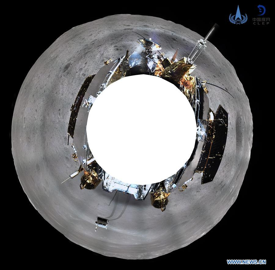 CHINA-CHANG'E-LUNAR PROBE-PANORAMIC PHOTOS (CN)