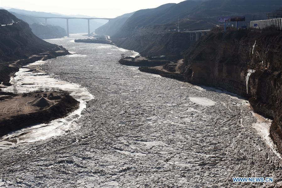 CHINA-SHANXI-HUKOU WATERFALL-ICE (CN)
