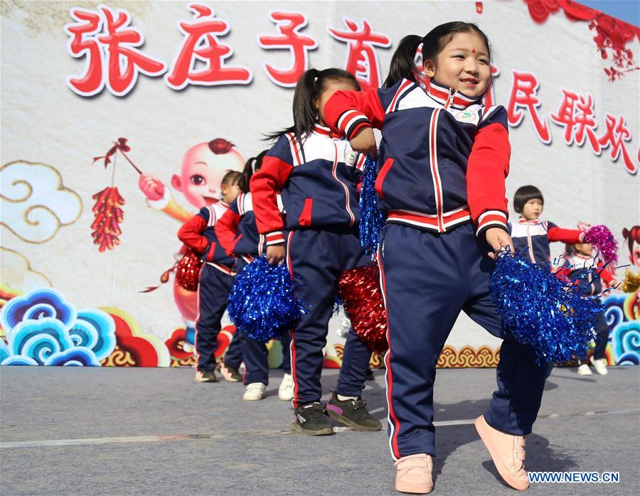 CHINA-CANGZHOU-SPRING FESTIVAL-PERFORMANCE (CN)