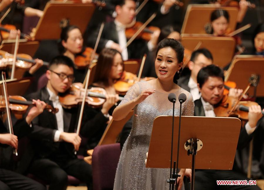 CHINA-SHANGHAI-CHINESE SPRING FESTIVAL-CONCERT (CN)