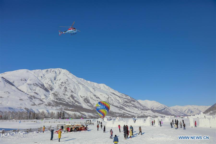 #CHINA-XINJIANG-KANAS-TOURISM-SPRING FESTIVAL HOLIDAY (CN*)