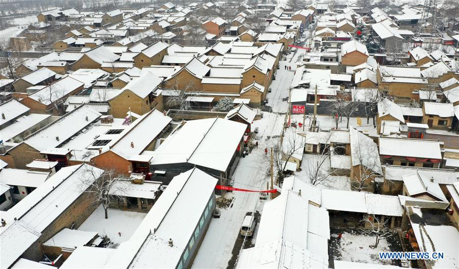 #CHINA-SHANXI-SNOW (CN)