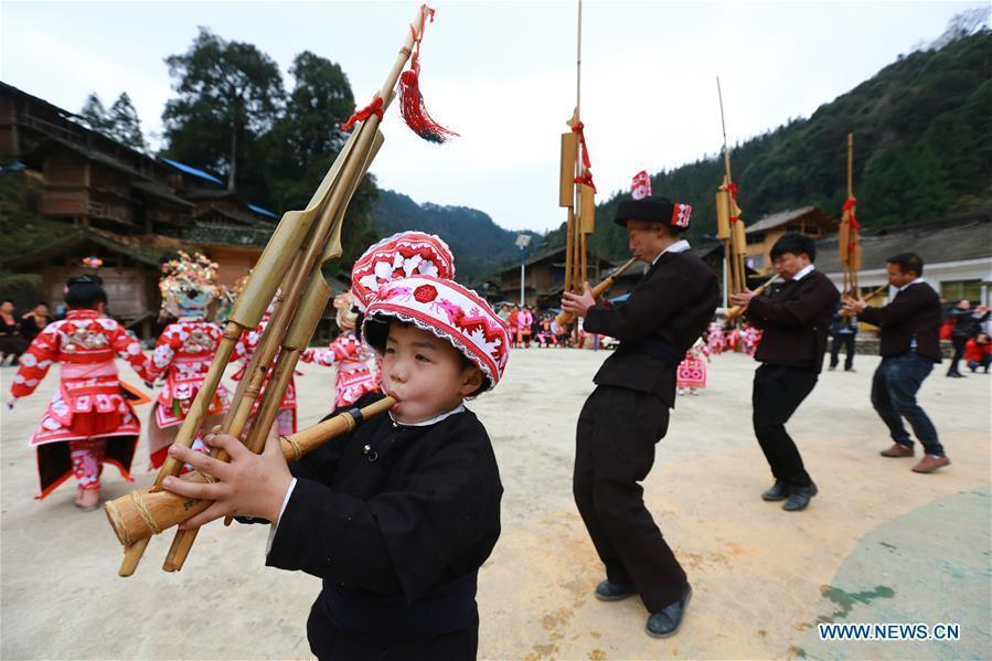 CHINA-GUIZHOU-QIANDONGNAN-LUSHENG-CELEBRATION (CN)