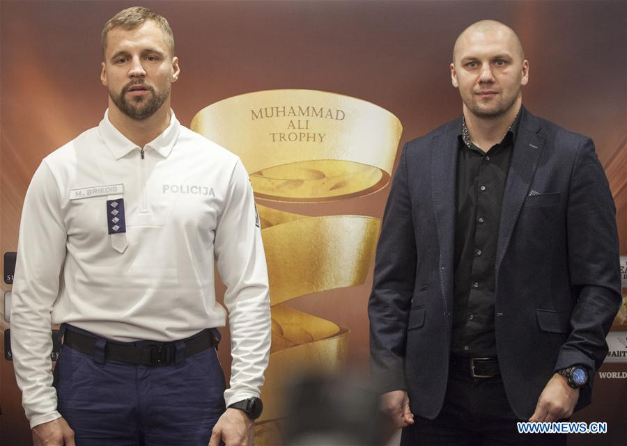 (SP)LATVIA-RIGA-BOXING-WORLD SUPER SERIES