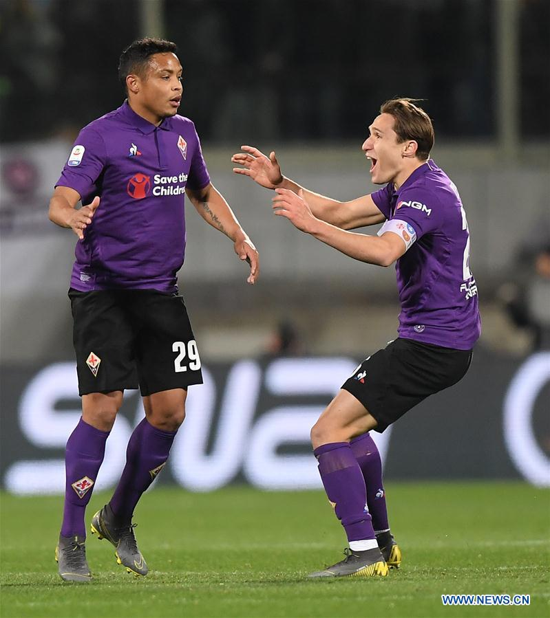 (SP)ITALY-FLORENCE-SOCCER-SERIE A-FIORENTINA VS INTER