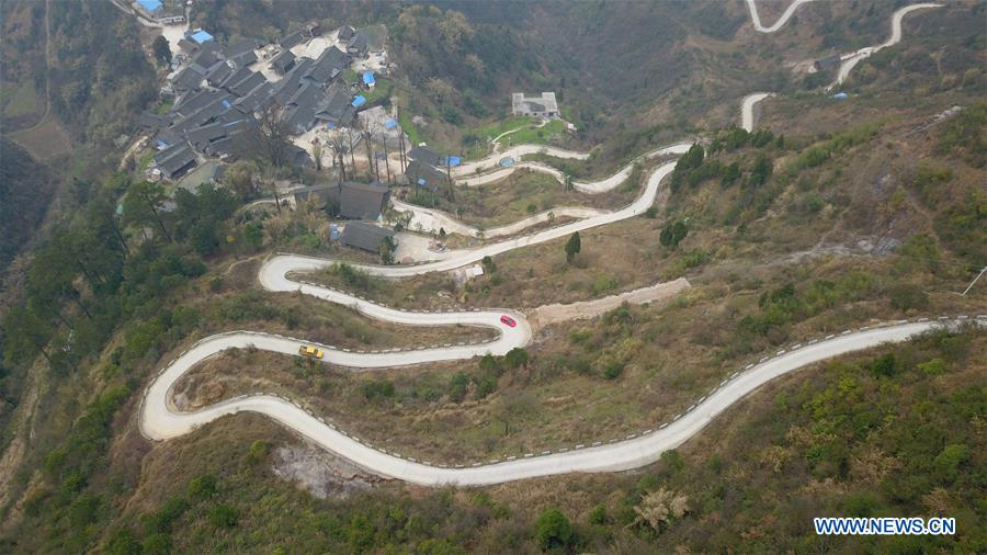 #CHINA-GUIZHOU-CONCRETE ROADS (CN)
