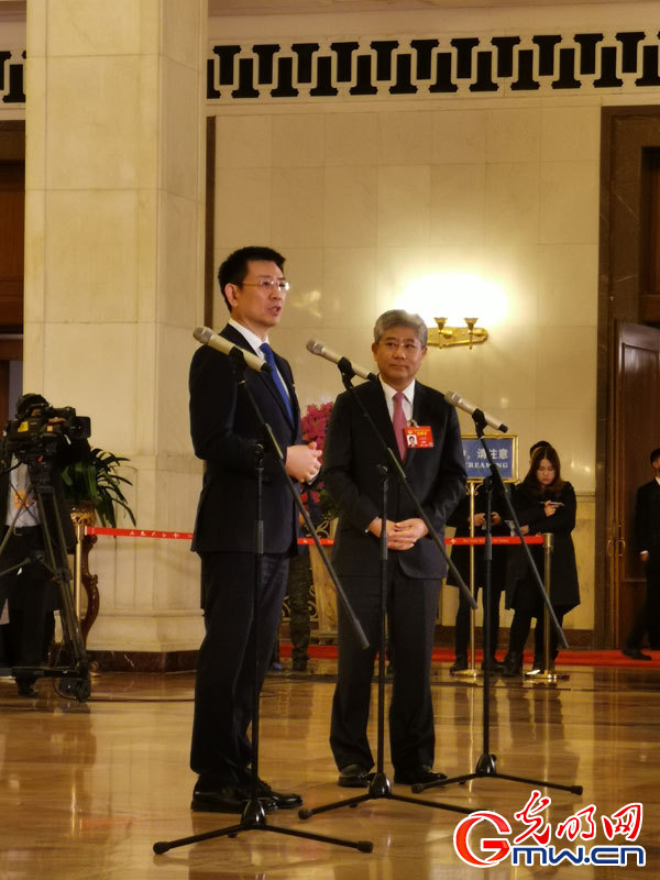 Interview ahead of closing meeting of 2nd session of 13th CPPCC National Committee