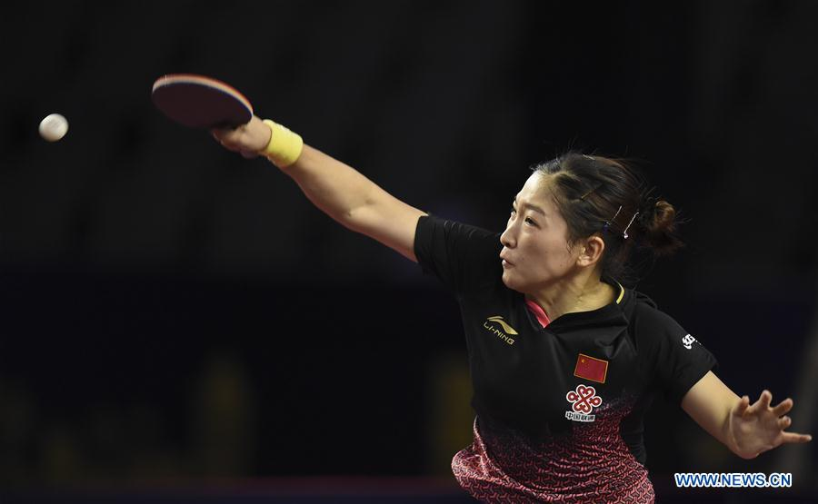 (SP)QATAR-DOHA-TABLE TENNIS-QATAR OPEN-WOMEN'S SINGLES-FINAL