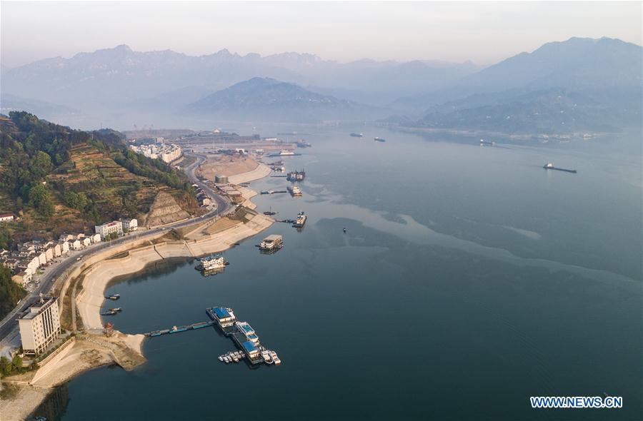 #CHINA-YICHANG-THREE GORGES-TEN BILLION OUTFLOW(CN)