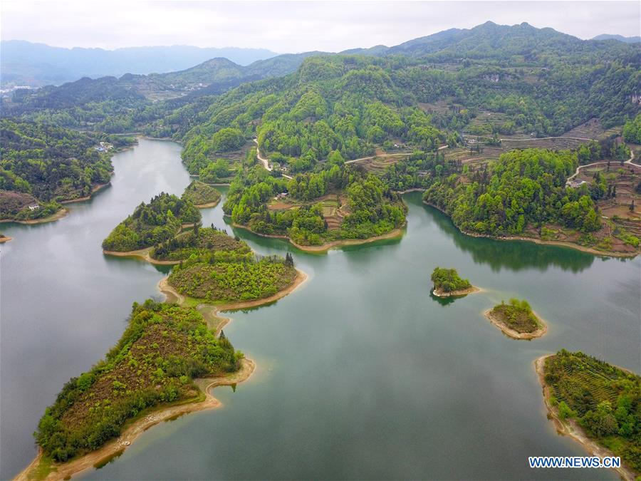 CHINA-GUIZHOU-MEITAN-SCENERY (CN)