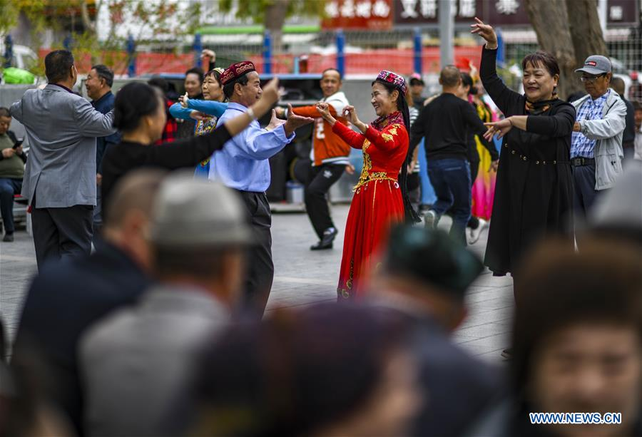 CHINA-XINJIANG-KORLA-DANCE(CN)