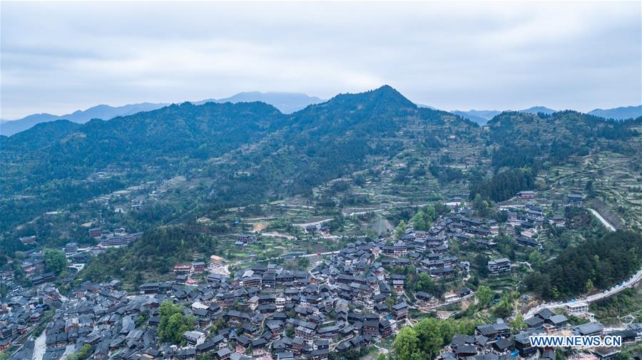 CHINA-GUIZHOU-MIAO VILLAGE-SCENERY (CN)