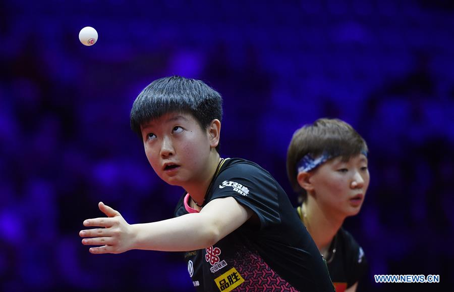 (SP)HUNGARY-BUDAPEST-TABLE TENNIS-WORLD CHAMPIONSHIPS-DAY 4