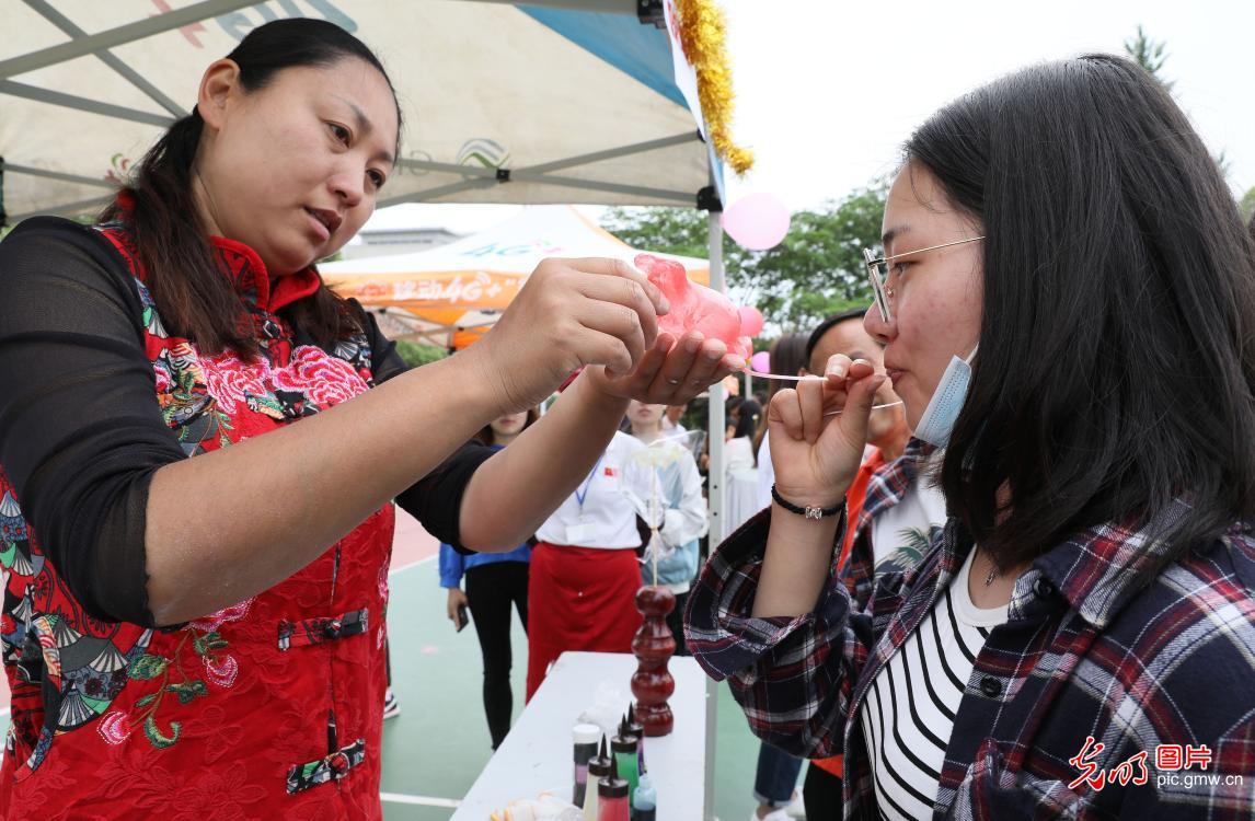 Jiangsu University held folk culture festival