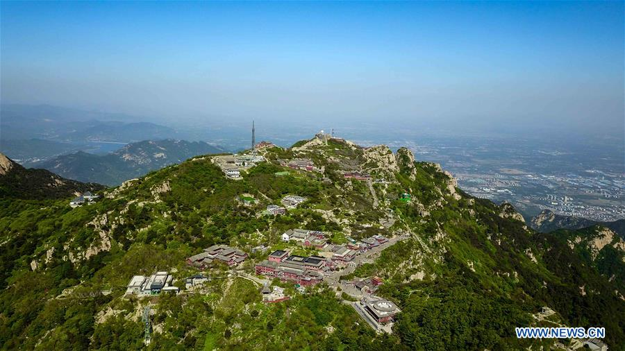 CHINA-SHANDONG-TAISHAN MOUNTAIN-SCENERY (CN)