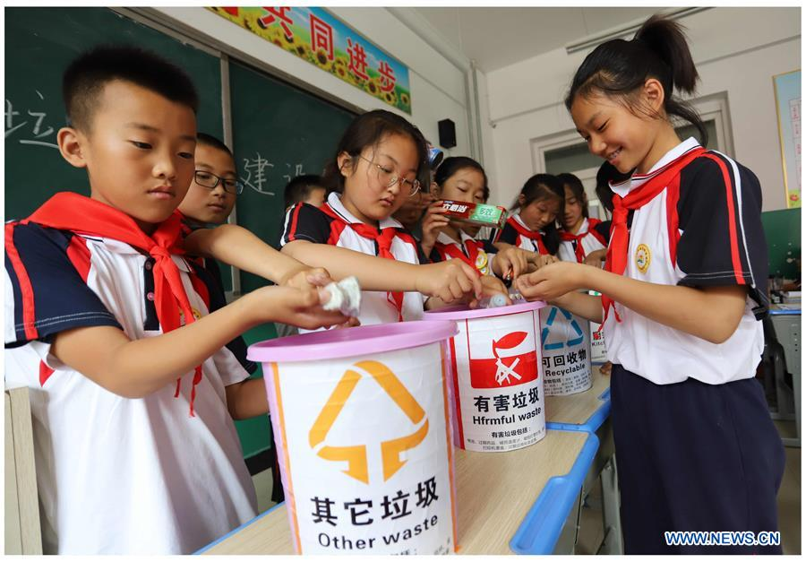 #CHINA-WORLD ENVIRONMENT DAY-GARBAGE SORTING (CN)