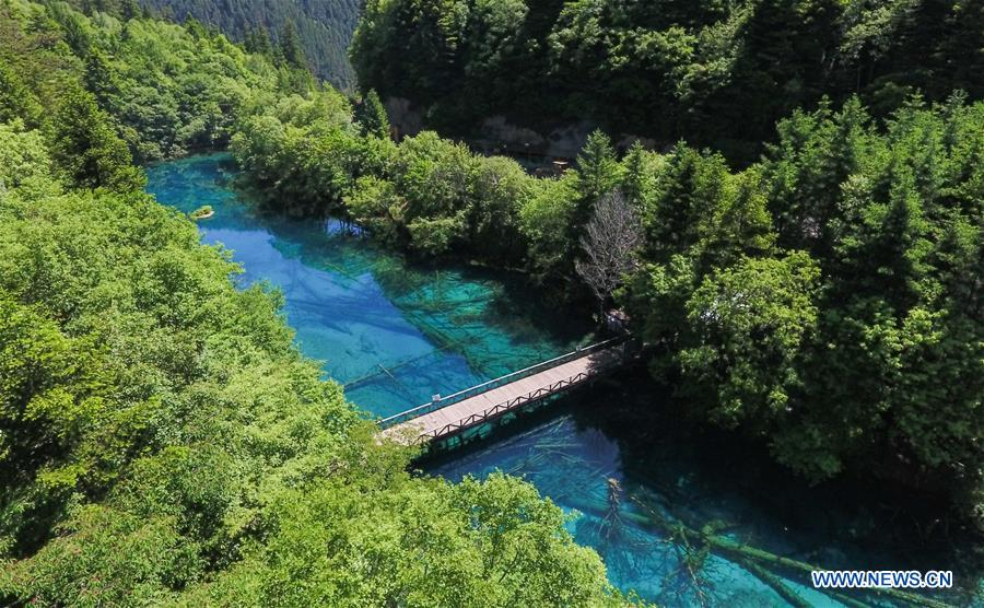 CHINA-SICHUAN-JIUZHAIGOU-SCENERY (CN)
