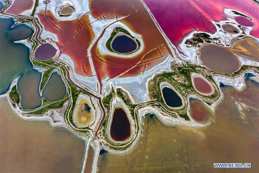 #CHINA-SHANXI-YUNCHENG-SALT LAKE (CN)