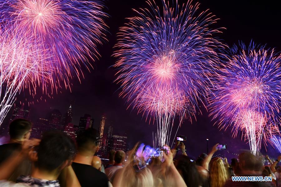 U.S.-NEW YORK-INDEPENDENCE DAY