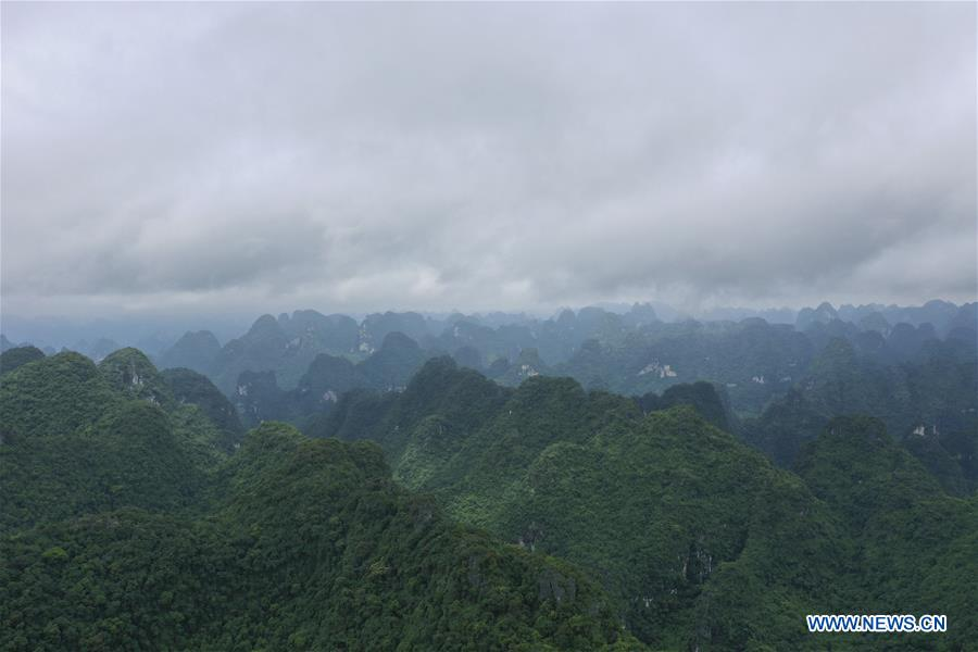 CHINA-GUANGXI-DAXIN COUNTY-NATURE RESERVE-SCENERY (CN)