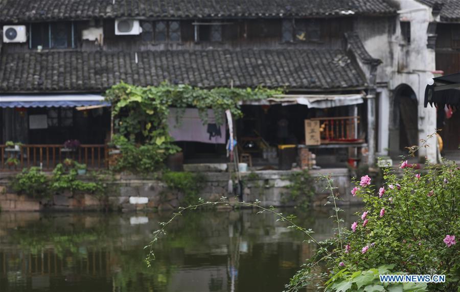 CHINA-ZHEJIANG-DEQING-ANCIENT TOWN OF XINSHI