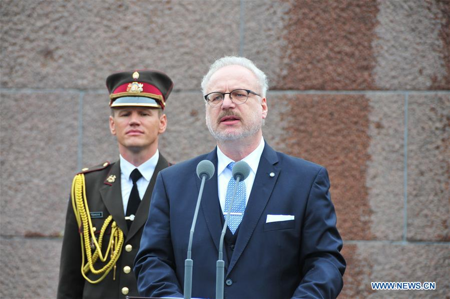 Latvia's new president assumes office
