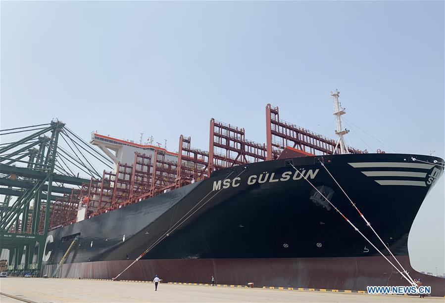 CHINA-TIANJIN-CONTAINER VESSEL-EUROPE-SAIL(CN)