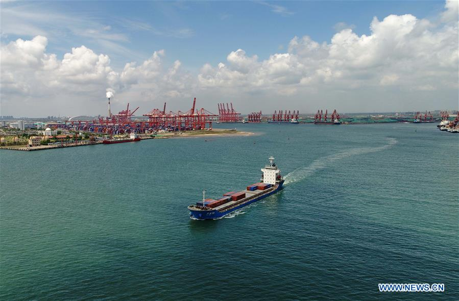CHINA-HEBEI-TANGSHAN PORT-CARGO ECONOMY (CN)