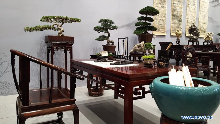 (BeijingCandid)CHINA-BEIJING-HORTICULTURAL EXPO-CHINESE CULTURE ELEMENT (CN)