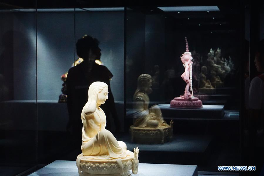 CHINA-BEIJING-DEHUA PORCELAIN-EXHIBITION (CN)