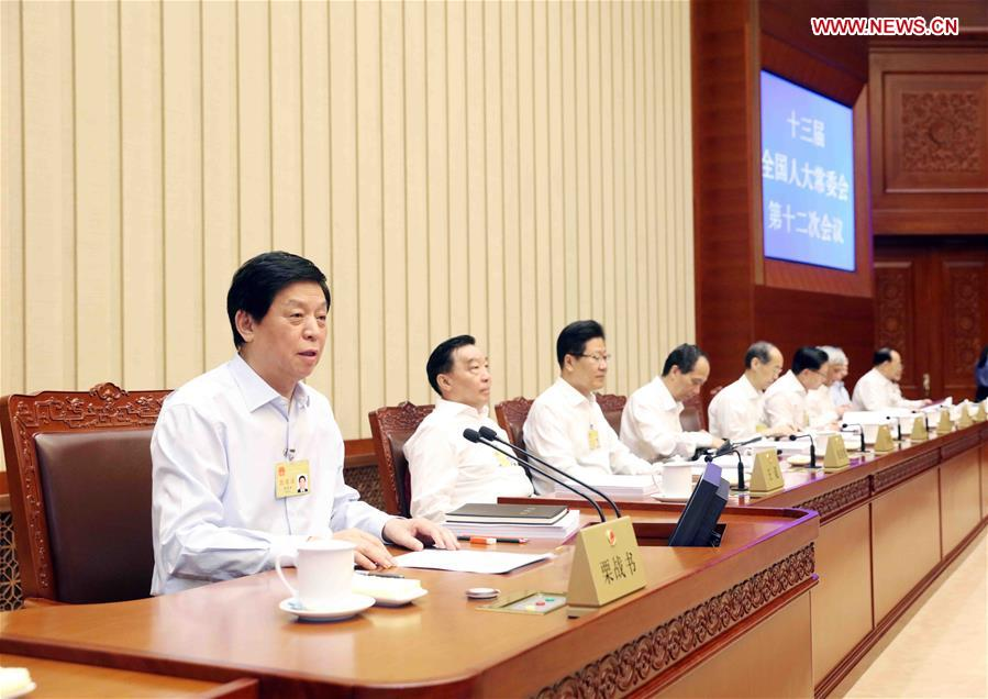 CHINA-BEIJING-LI ZHANSHU-NPC-MEETING (CN)