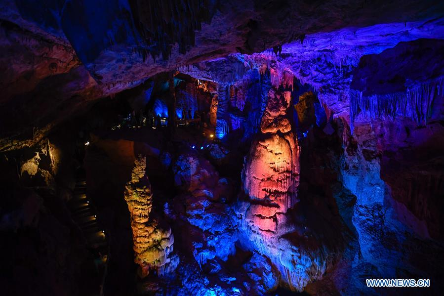 CHINA-ZHEJIANG-TONGLU-KARST CAVE-SCENERY (CN)