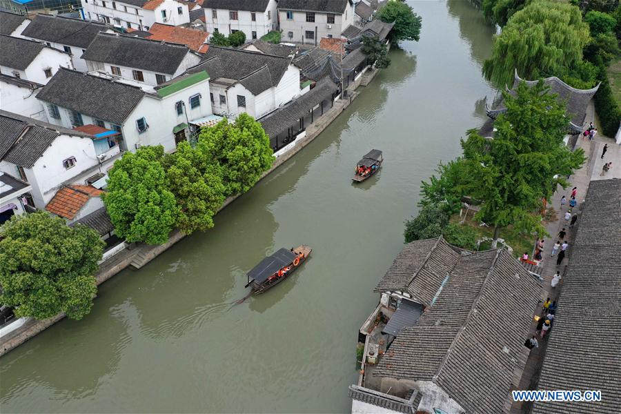 CHINA-JIANGSU-KUNSHAN-QIANDENG ANCIENT TOWN-SCENERY (CN)