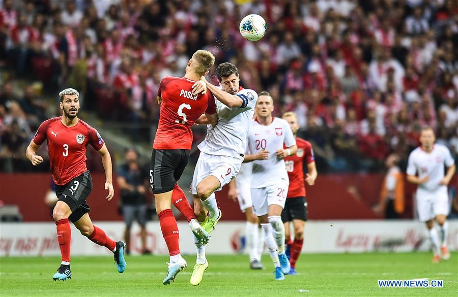 (SP)POLAND-WARSAW-FOOTBALL-UEFA-EUROPEAN QUALIFIERS