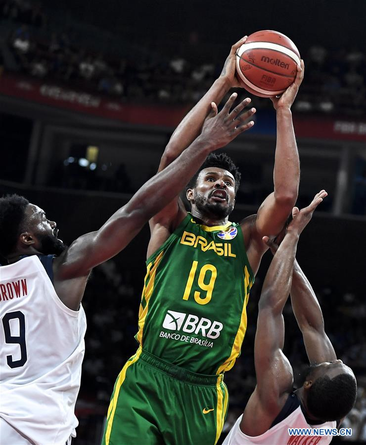 (SP)CHINA-SHENZHEN-BASKETBALL-FIBA WORLD CUP-GROUP K-USA VS BRAZIL(CN)