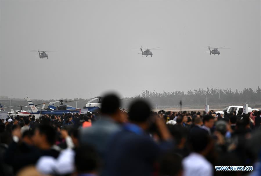 CHINA-TIANJIN-HELICOPTER EXPO-Z-20-DEMO FLIGHT (CN)