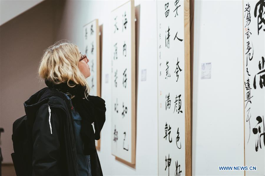 LITHUANIAN-VILNIUS-CHINESE CALLIGRAPHY-EXHIBITION