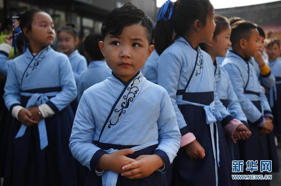 (文化)(1)汉文化旅游节上的汉服嘉年华